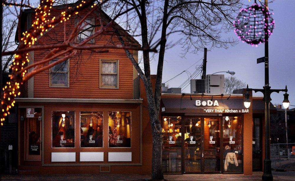 "Boda ""Very THai"" Kitchen and Bar - a restaurant in Portland, Maine"