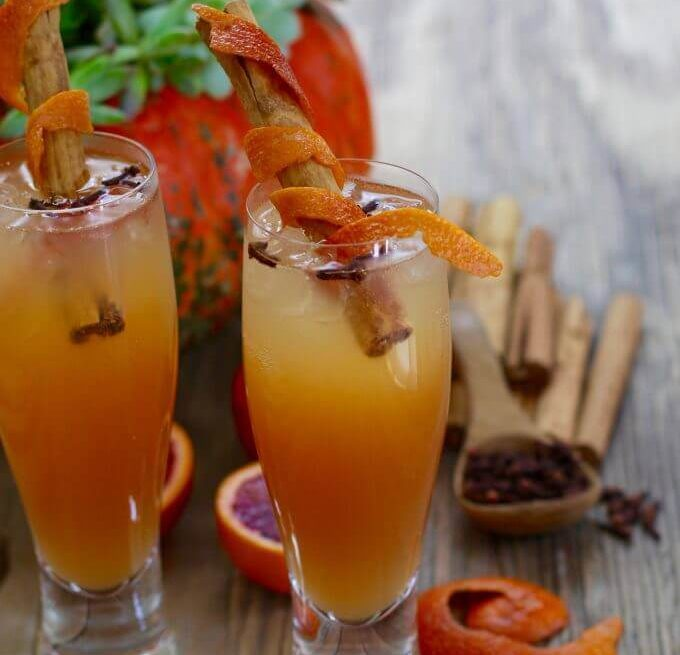 Amazing fireball whiskey fall cocktail recipe