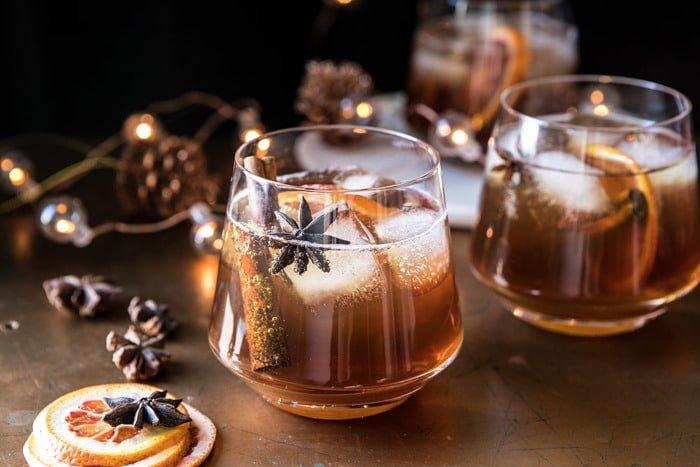 Vanilla chai old fashioned drinks