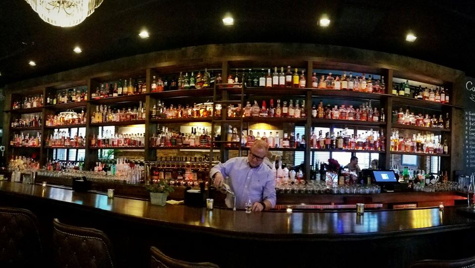 Bar at Independent Ice Co. in Portland, Maine