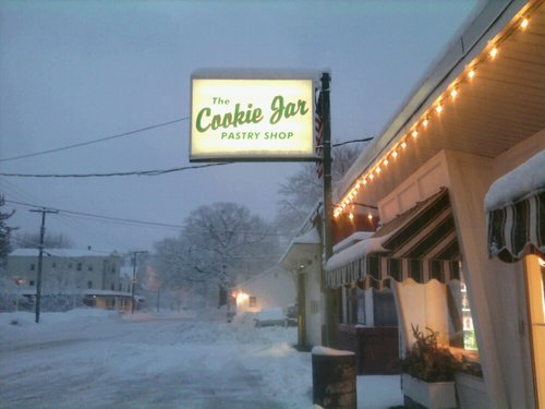 The Cookie Jar Pastry Shop in Cape Elizabeth, Maine
