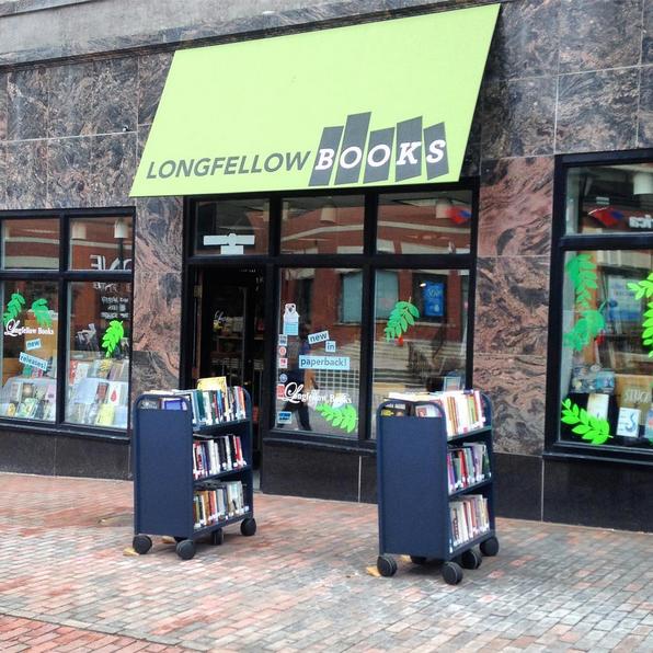 Longfellow Books bookstore in Portland, Maine
