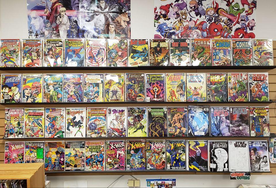 Casablanca Comics bookstore in Windham, Maine
