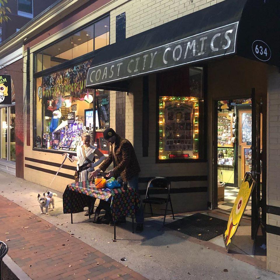 Coast City Comics bookstore in Portland, Maine