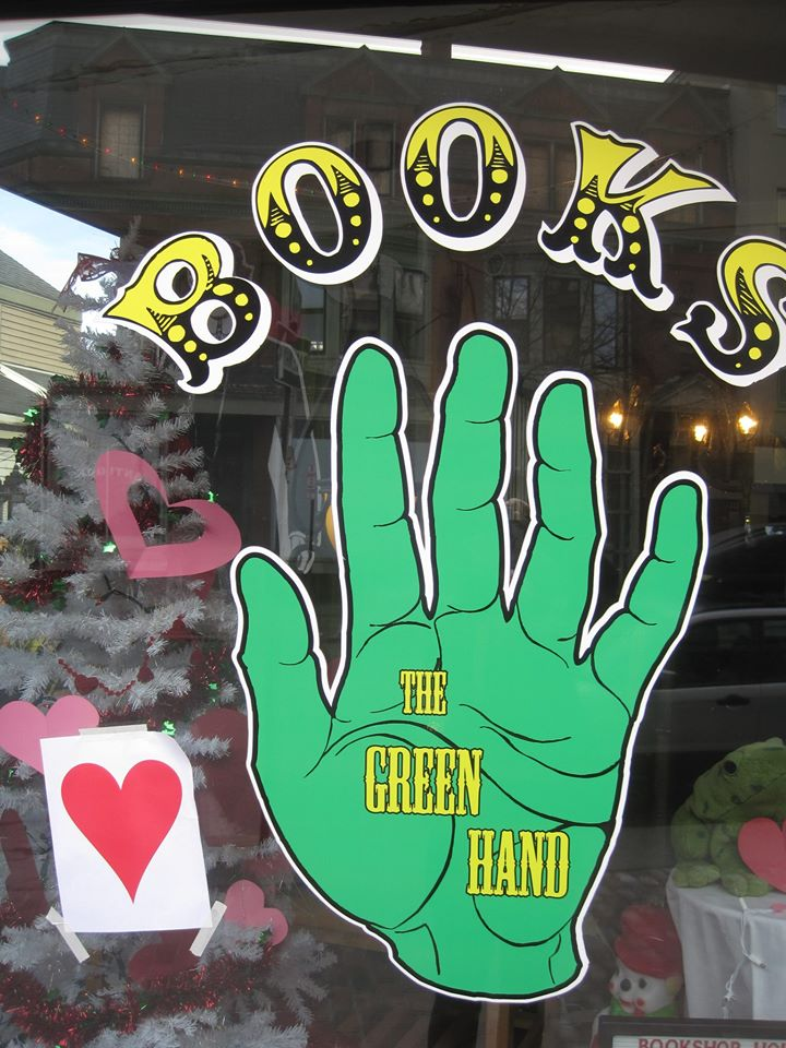 The Green Hand bookstore in Portland, Maine