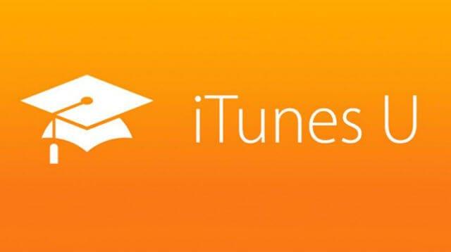 iTunes U, a platform for online courses