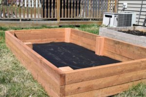 Simple raised beds