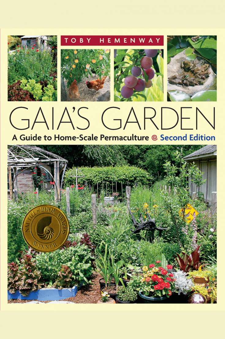 The book cover of Gaia's Garden by Toby Hemenway.