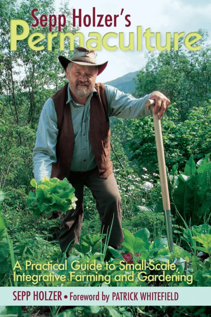 The book cover of Sepp Holzer's Permaculture by Sepp Holzer.