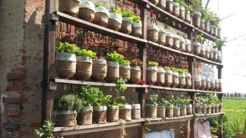 24 DIY Vertical Garden Designs and Ideas